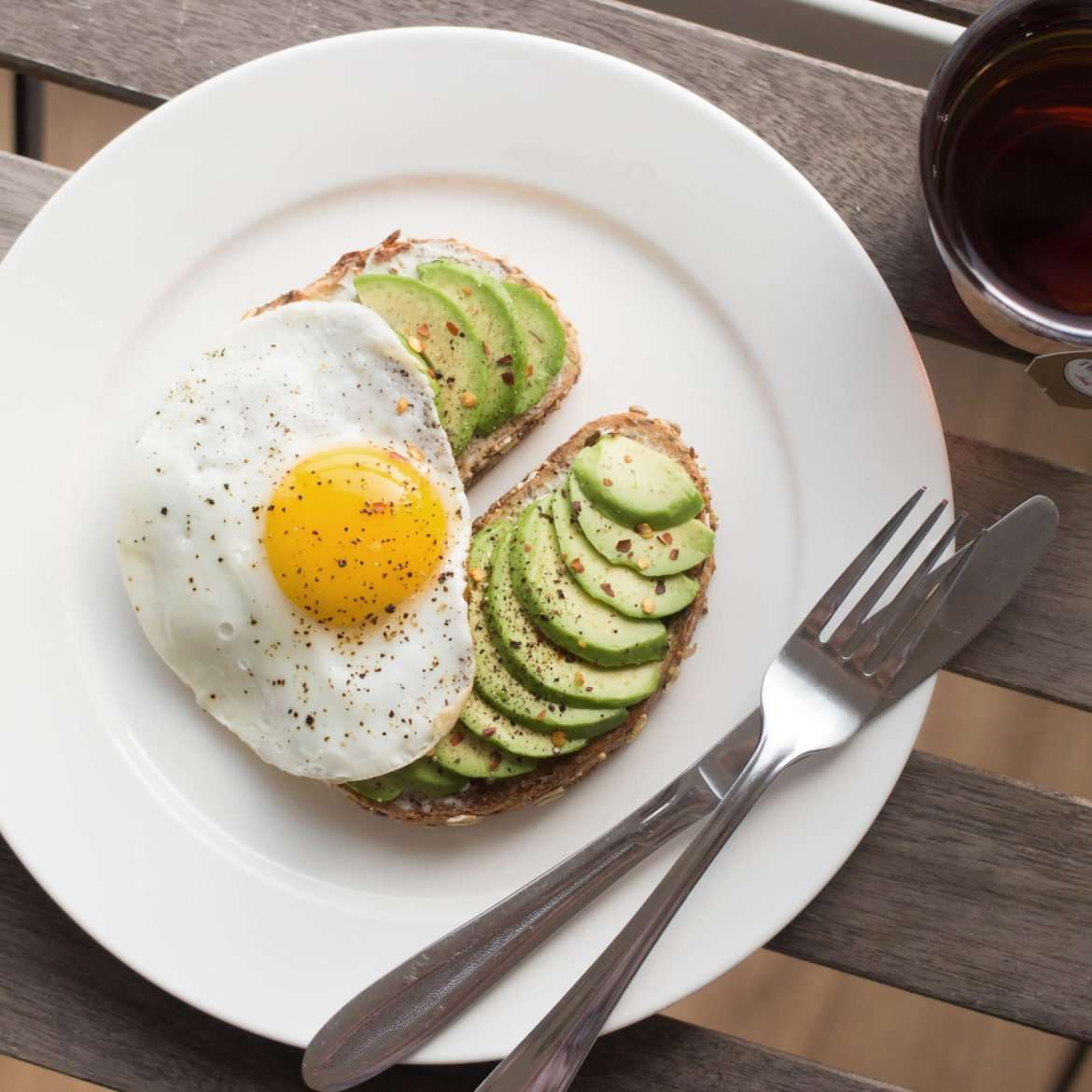 Avocado Toast with Sunny-Side-Up Egg