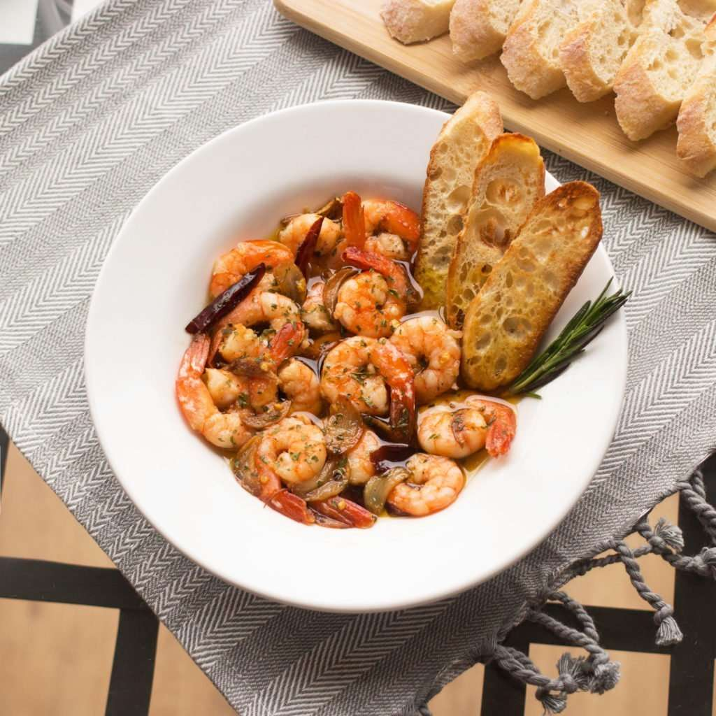 Spanish Garlic Shrimp Gambas Al Ajillo Cookerru