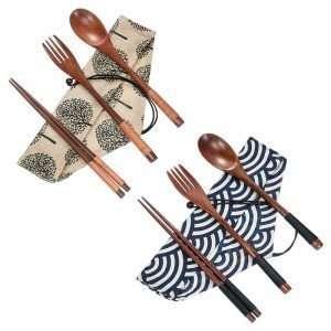 Wooden Flatware Set