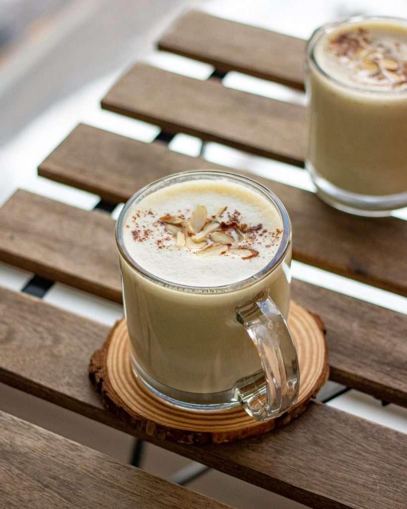 korean sweet potato latte