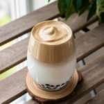 dalgona brown sugar milk tea