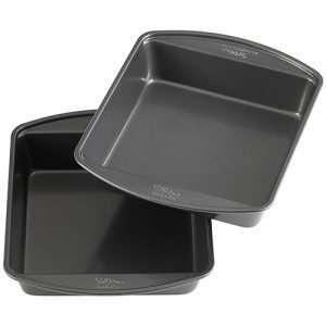 Non-Stick 8-Inch Square Cake Pans