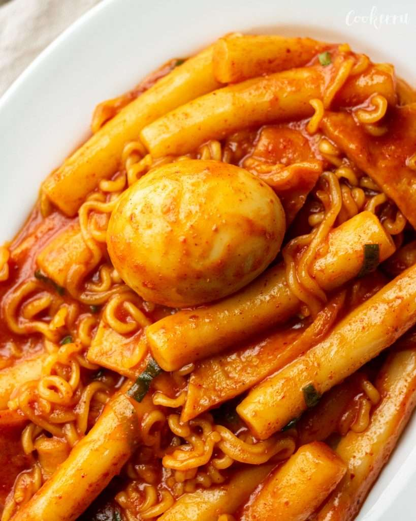 Tteokbokki Korean Spicy Rice Cakes Cookerru
