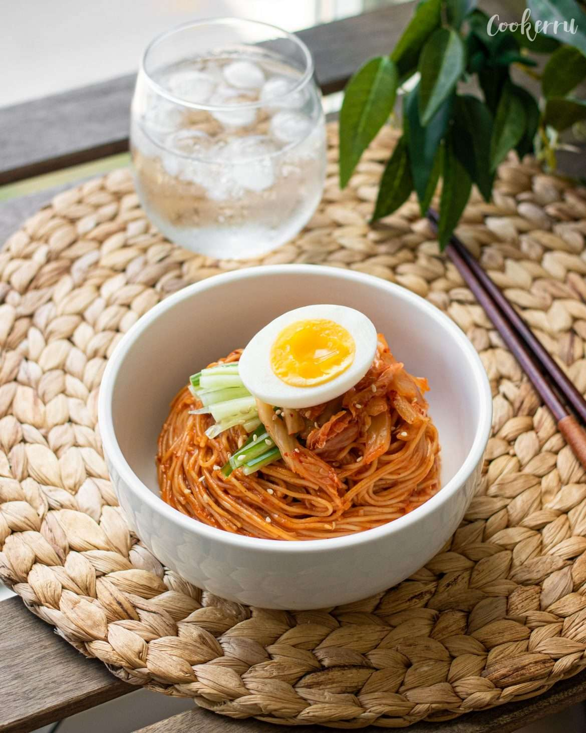 Bibim Guksu (Korean Spicy Cold Noodles)