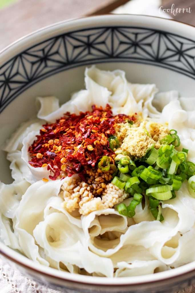 Garlic Chili Oil Noodles