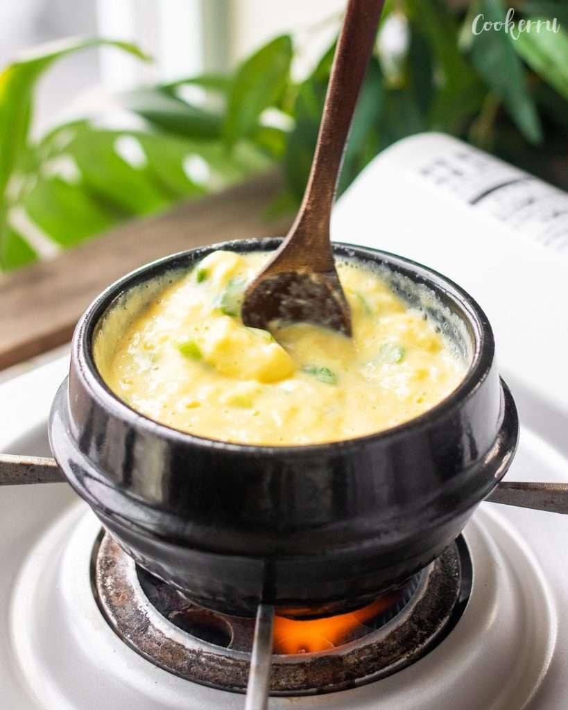 Volcano Korean Steamed Egg
