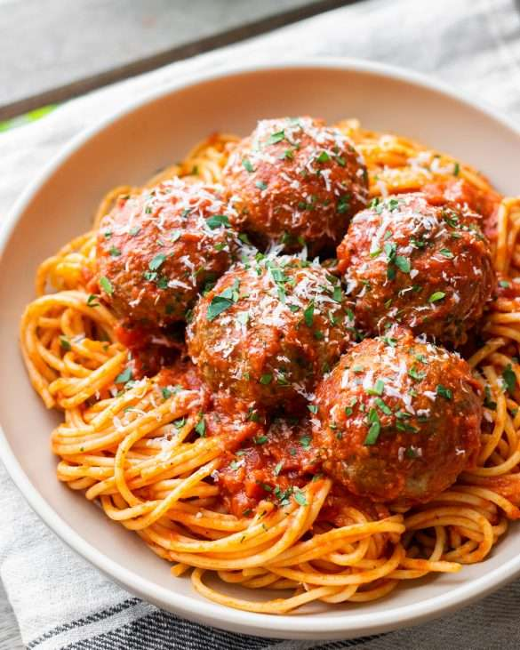 Melt-In-Your-Mouth Italian Meatballs
