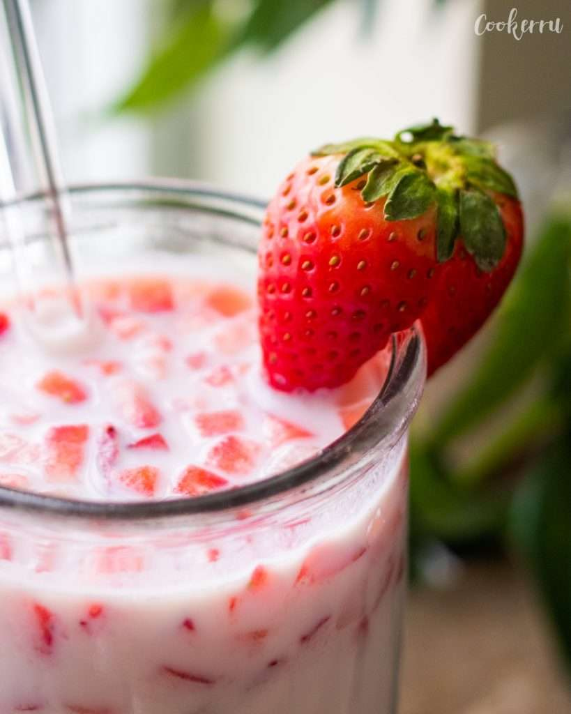 3-Ingredient Korean Strawberry Milk
