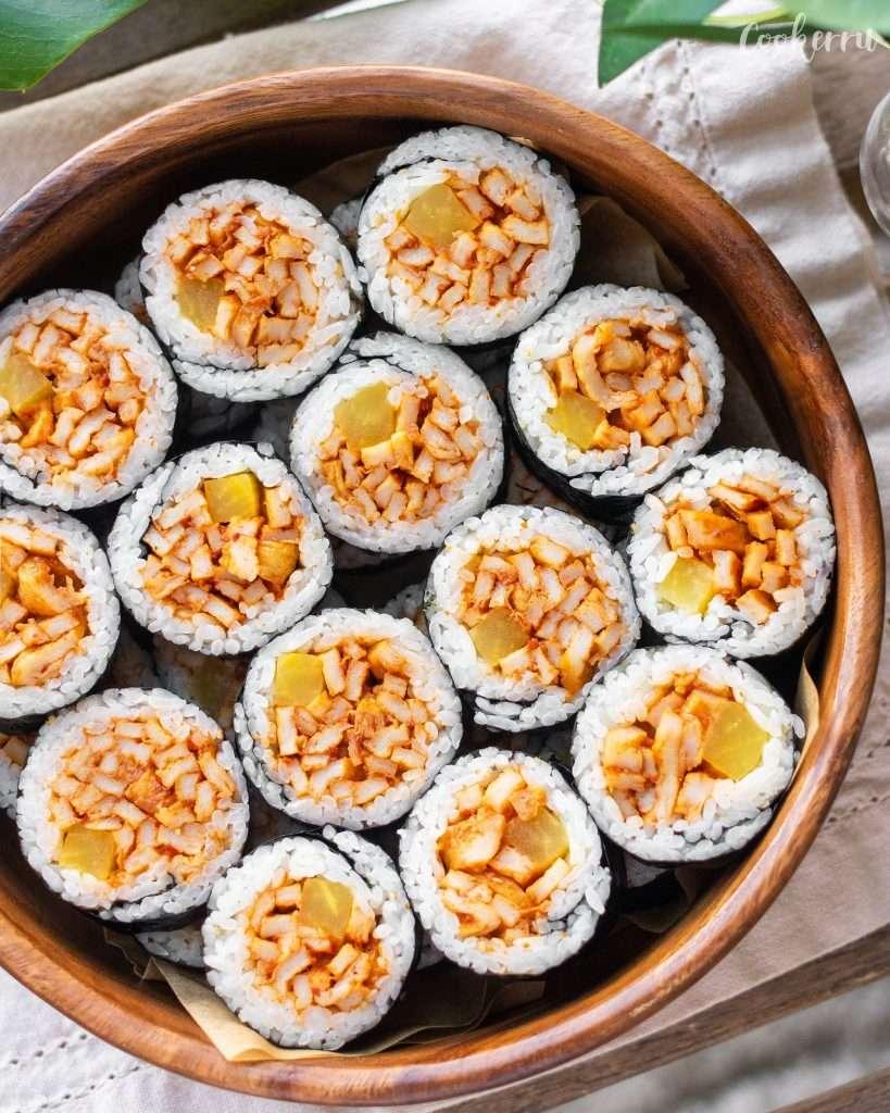 Korean Fish Cake (Eomuk) Kimbap