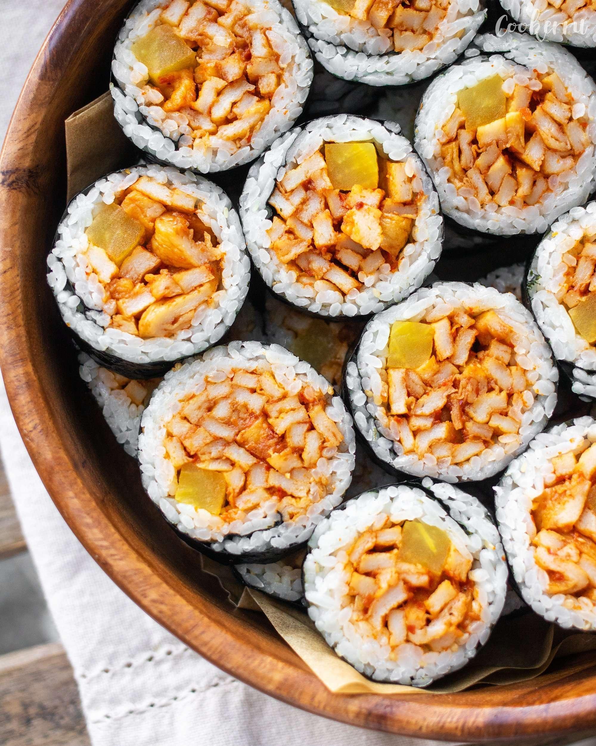 3-Ingredient Eomuk Kimbap