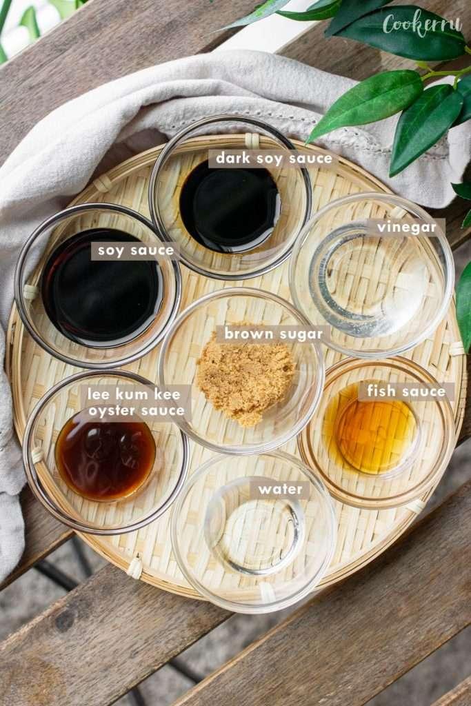 Ingredients for Pad See Ew (Thai Stir-Fried Noodles)
