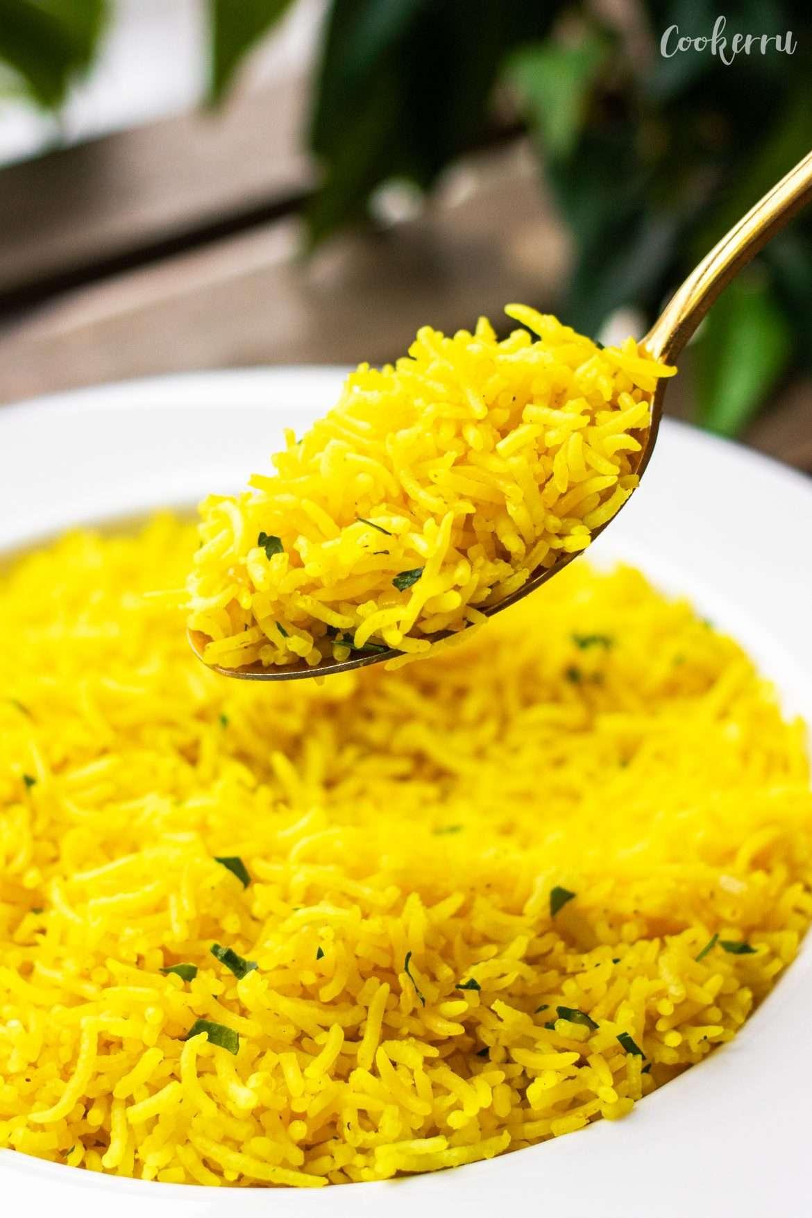 Golden Turmeric Rice