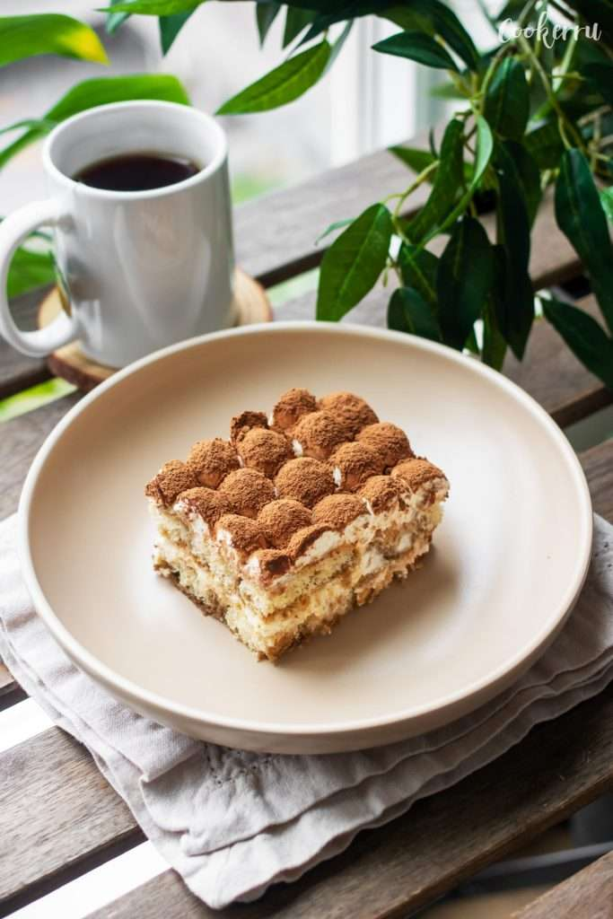 Easy Eggless Tiramisu