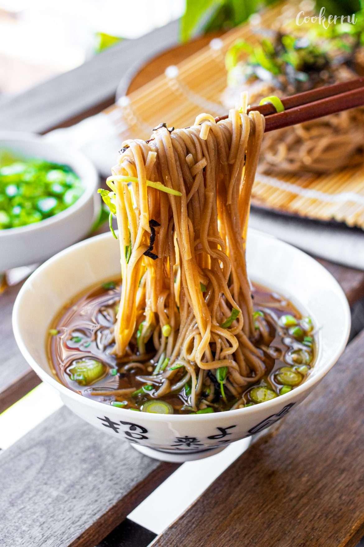 10-Minute Zaru Soba (Cold Soba Noodles)