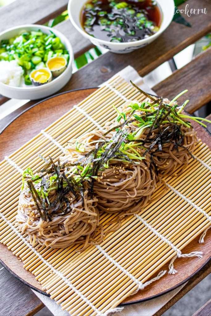 10-Minute Cold Soba Noodles (Zaru Soba)