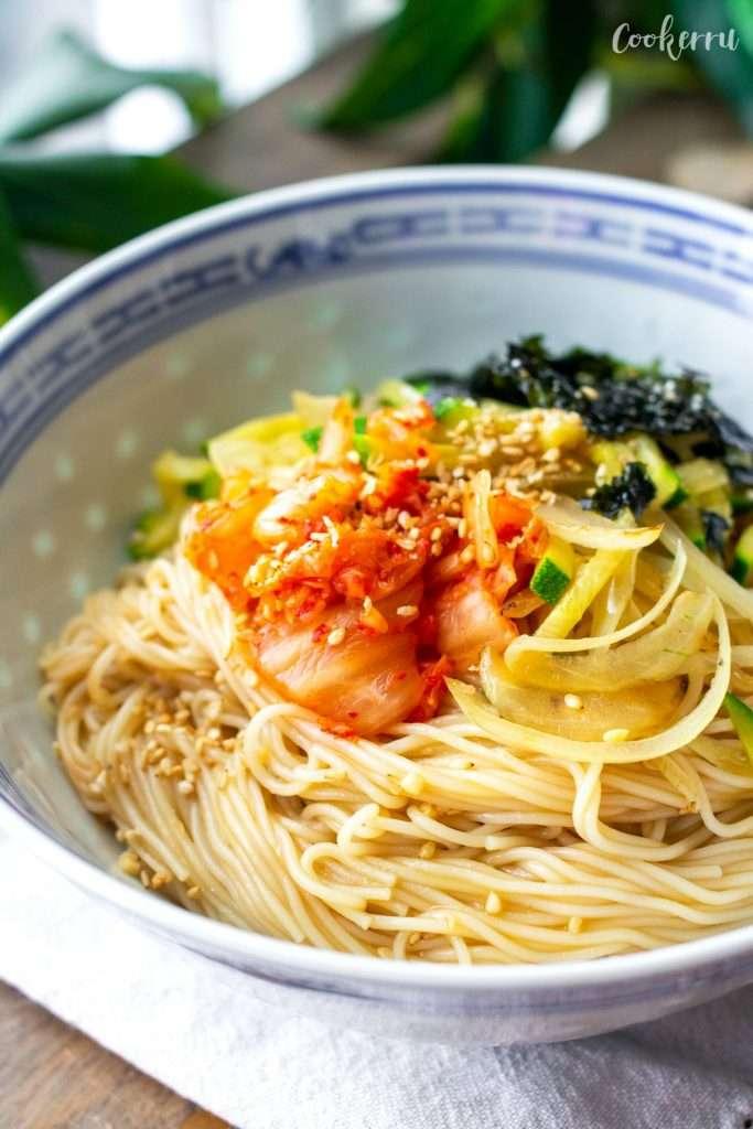 10-Minute Soy Sauce Noodles (Ganjang Bibim Guksu)