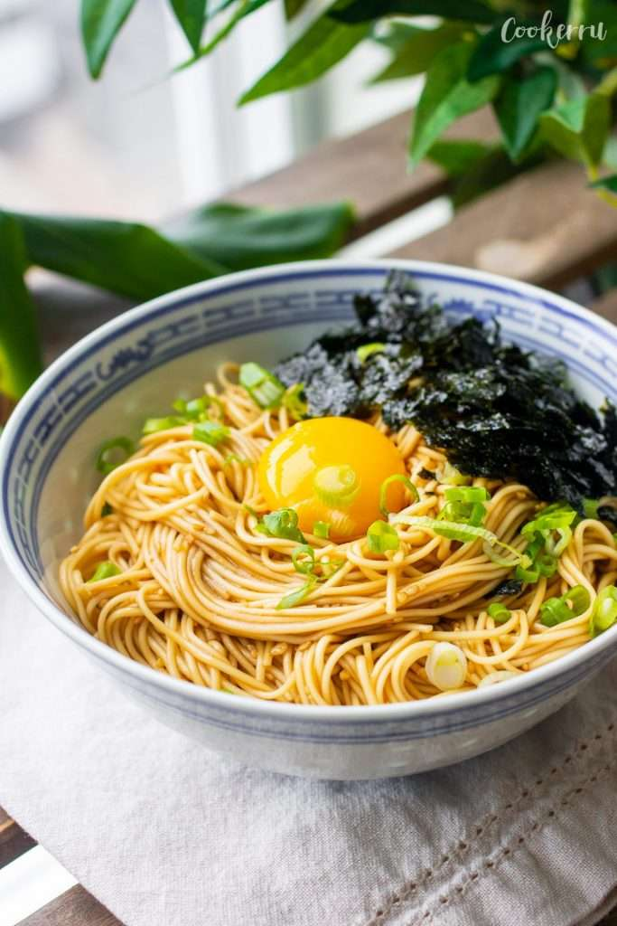 5-Minute Korean Soy Sauce Noodles (Ganjang Guksu)