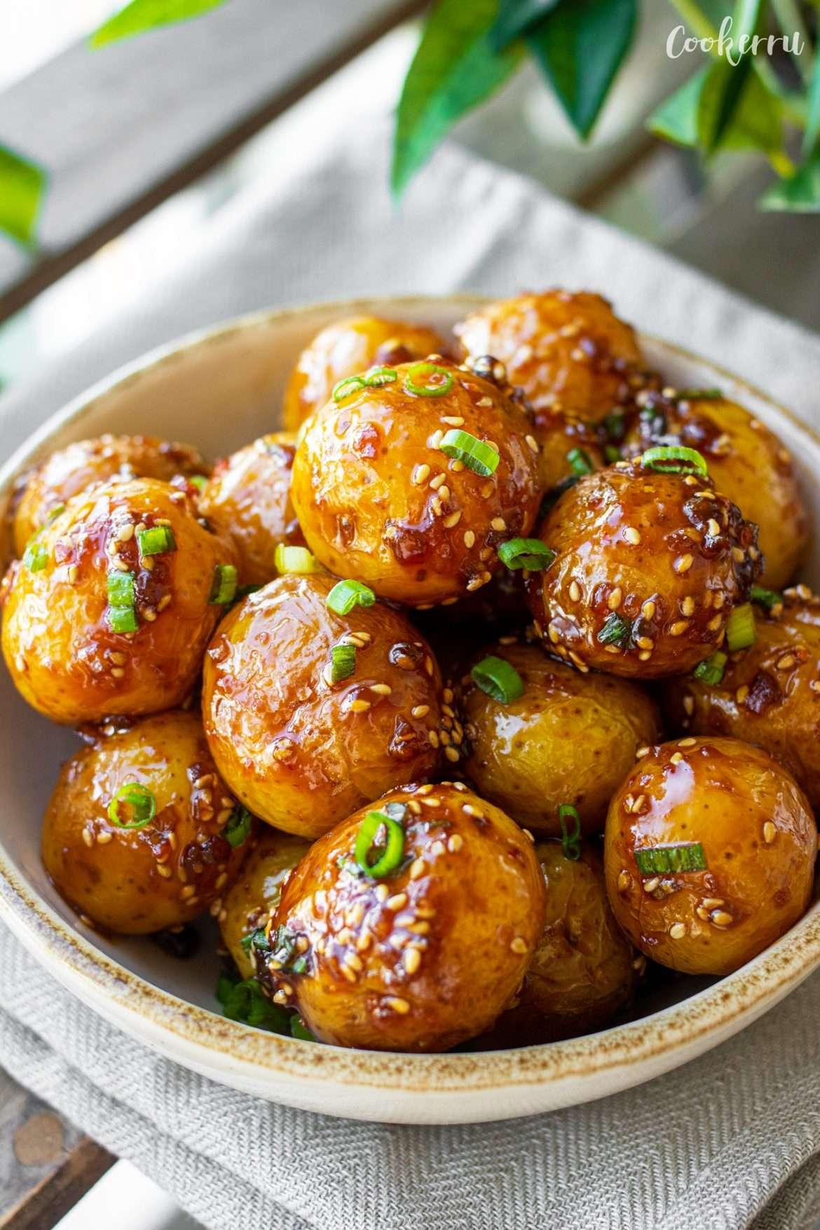 Korean Braised Potatoes (Gamja Jorim)