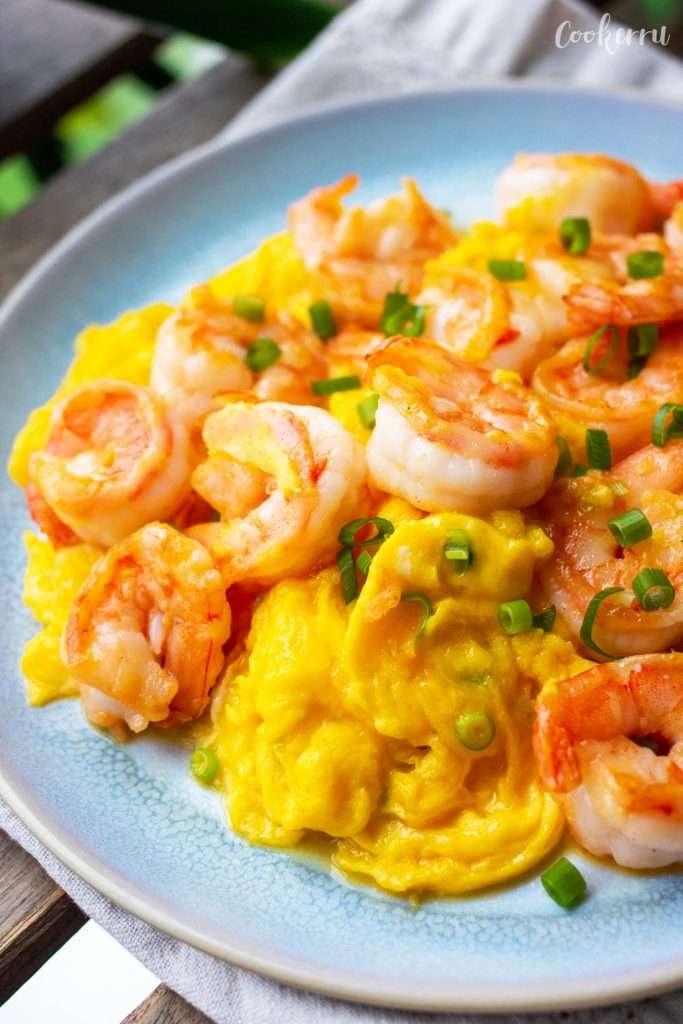 Shrimp and Egg Stir Fry